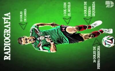 'Chicharito' Hernández, a un gol de escribir historia con la Selección M...