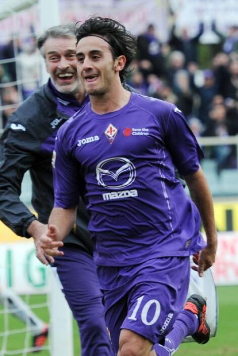 Seguimos con el italiano Alberto Aquilani, ahora jugador de la Fiorentina.