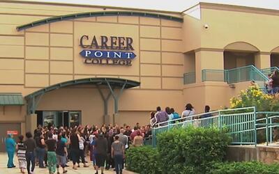 Al menos 50 estudiantes demandaron por daños a Career Point, debido al c...