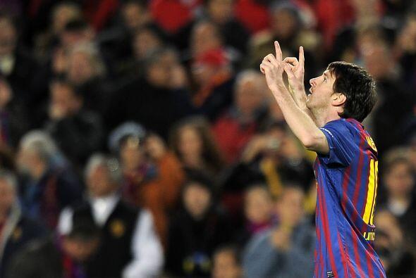 Y de nuevo Messi, con una jugada por la banda izquierda anota el segundo...