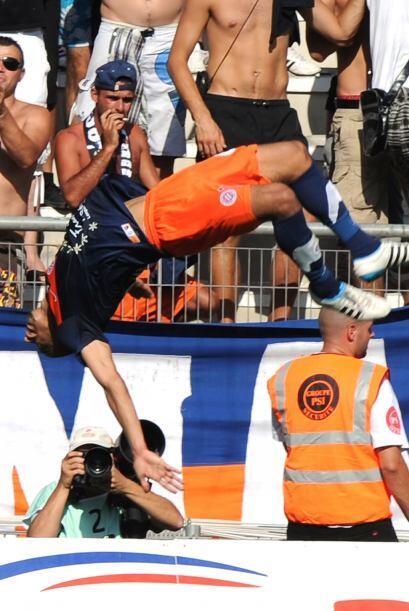 Si se trata de festejar goles con gran elocuencia, Younes Belhanda es co...