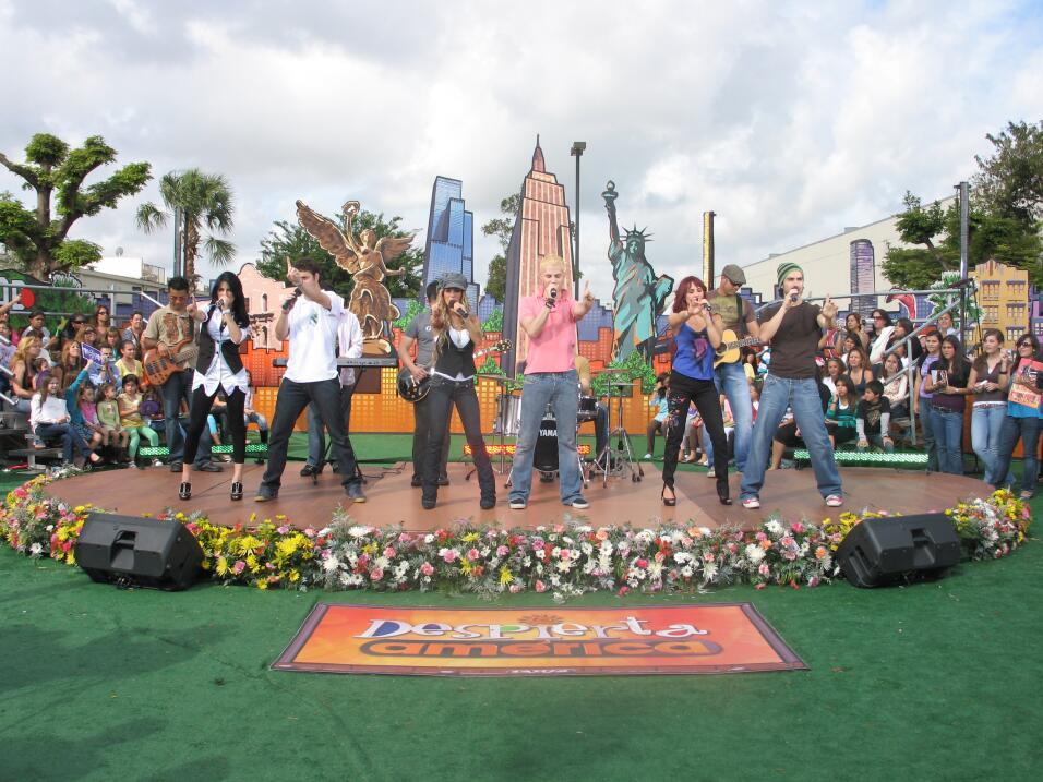 RBD en Despierta América 2008