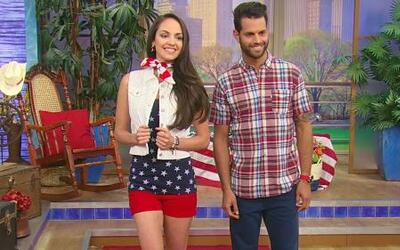 Moda patriota para el Día de la Conmemoración
