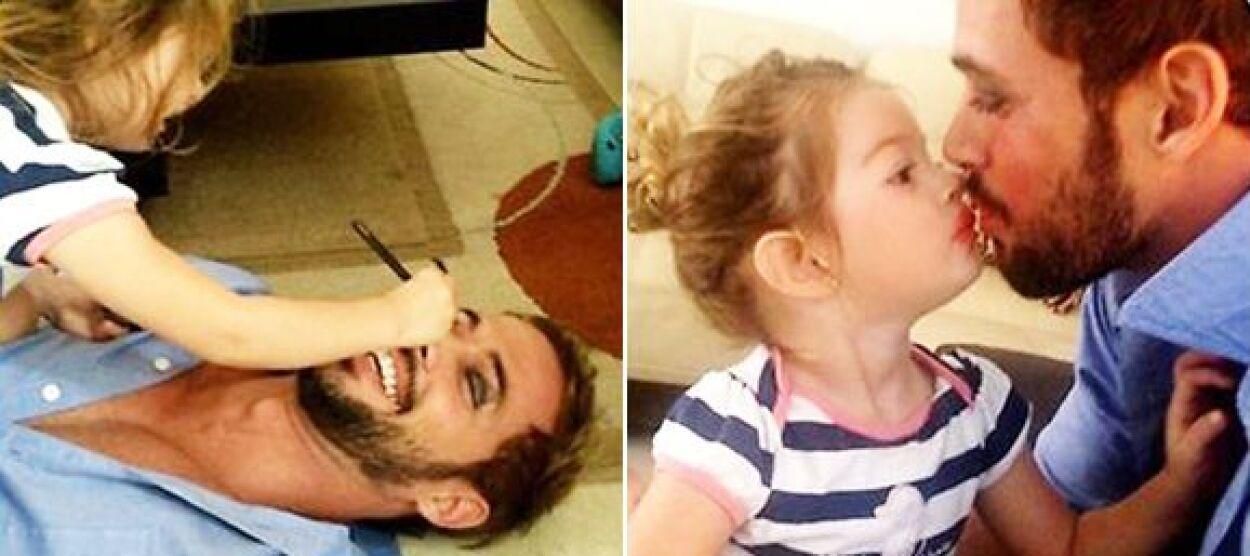 """El galán de """"La Tempestad"""" es un padre muy amoroso."""