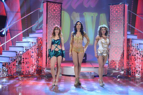 Una de estas tres guapas concursantes no pasará a la siguiente ronda de...
