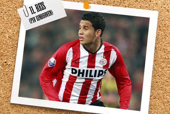El atacante que cierra el once de la semana es el brasileño Jonat...