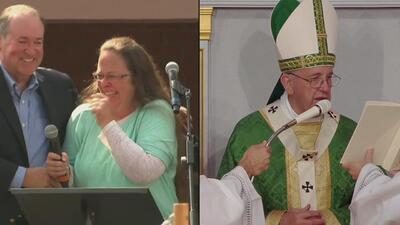 Kim Davis sostuvo reunión privada con el Papa Francisco, aseguran sus ab...