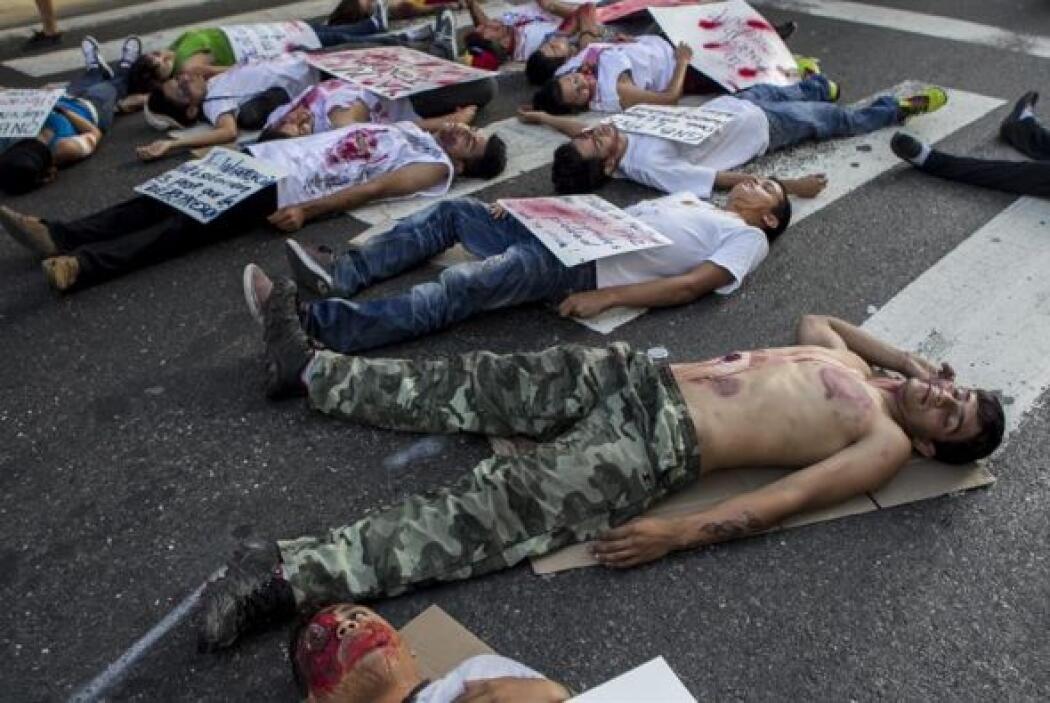 Venezuela se ha visto sacudida desde febrero por protestas de universita...