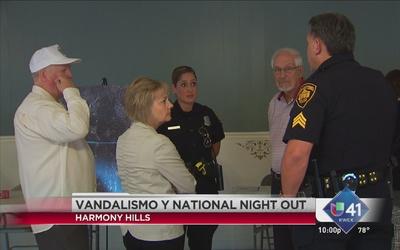 Vecinos de Harmony Hills se unen contra el vandalismo