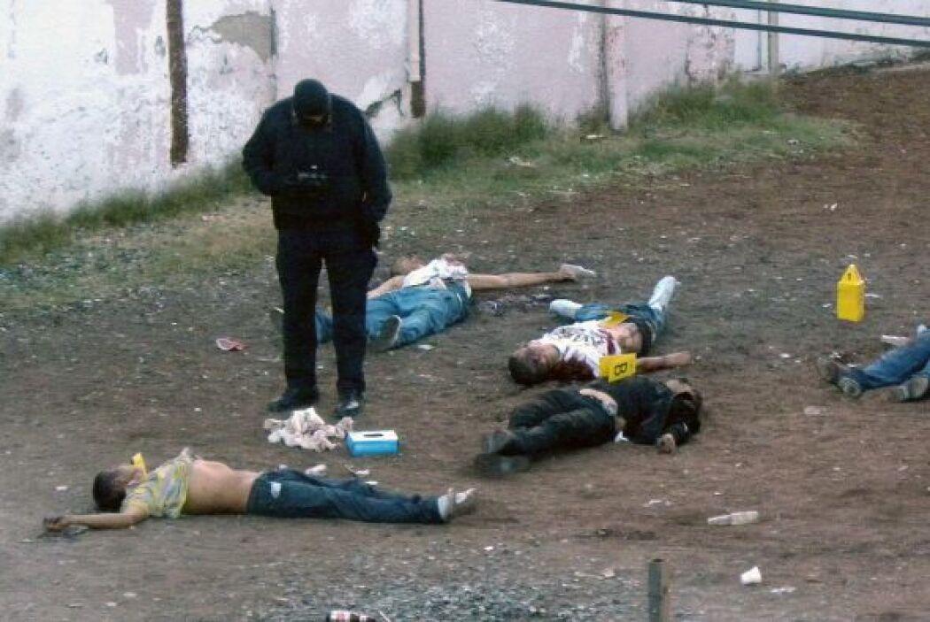 En lo que va del año, unas 2,000 personas han muerto por causa de la vio...