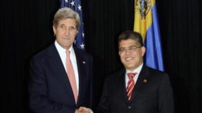 EEUU y Venezuela acuerdan diálogo.