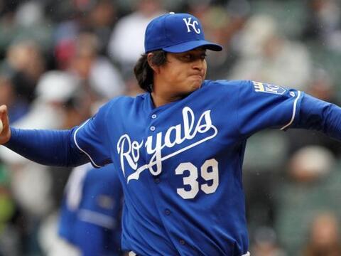 SP. Luis Mendoza. Reales de Kansas City. El mexicano abrió sus do...