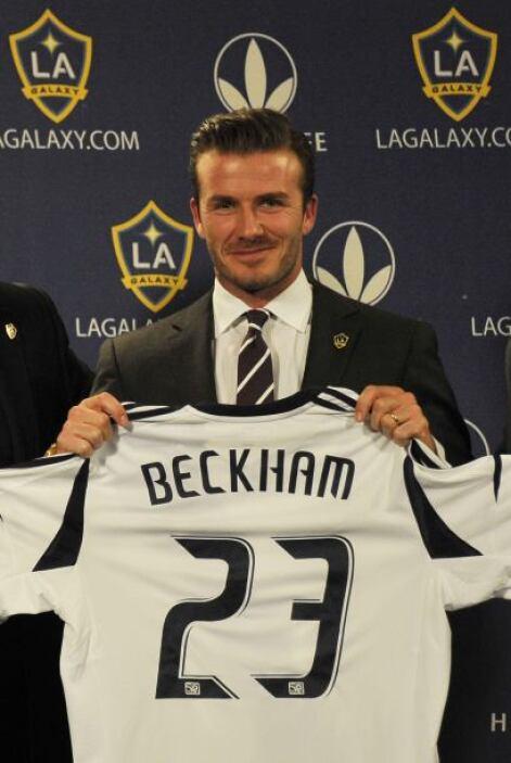 DAVID BECKHAM- Con 31.5 millones de euros ($41.7 millones) en la bolsa a...