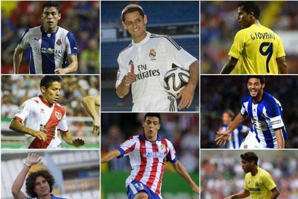 La cantidad de mexicanos en la liga se ha incrementado para esta campa&n...