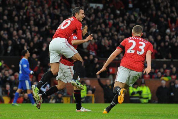 Giggs se unió a la lista de goleadores del United en la victoria de 2-0...