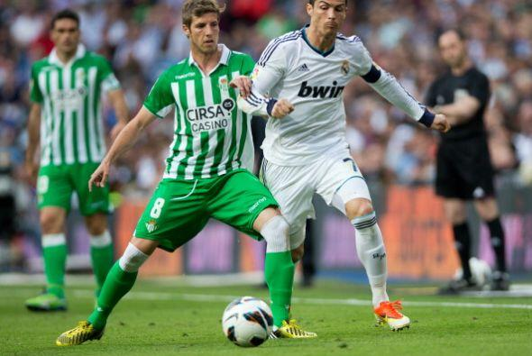 El Real Madrid recibió al Betis en el Santiago Bernabéu.