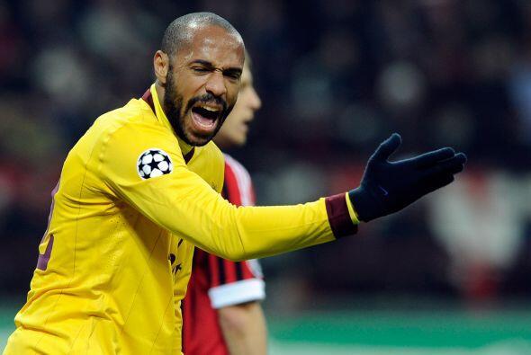 Sin embargo, el coraje del futbolista francés era de lo  poco que...