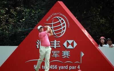 El italiano Francesco Molinari va en la punta del torneo chino.