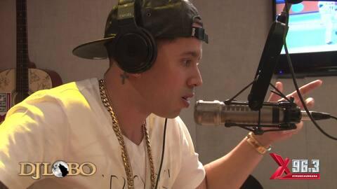 DJ Lobo pone a improvisar a De La Ghetto