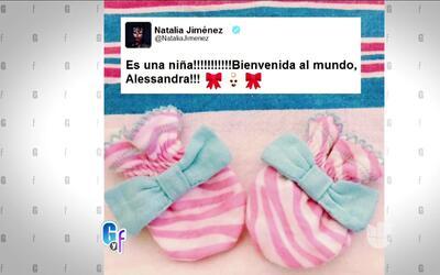 Natalia Jiménez dió a luz una niña y Anahí reveló el nombre que le dará...