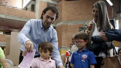 El ingeniero civil Federico Gutiérrez, candidato del Movimiento C...