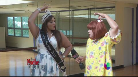 Chiquitota quiere ser una reina plus