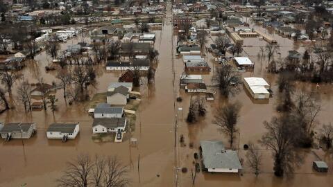 Inundaciones en Missouri