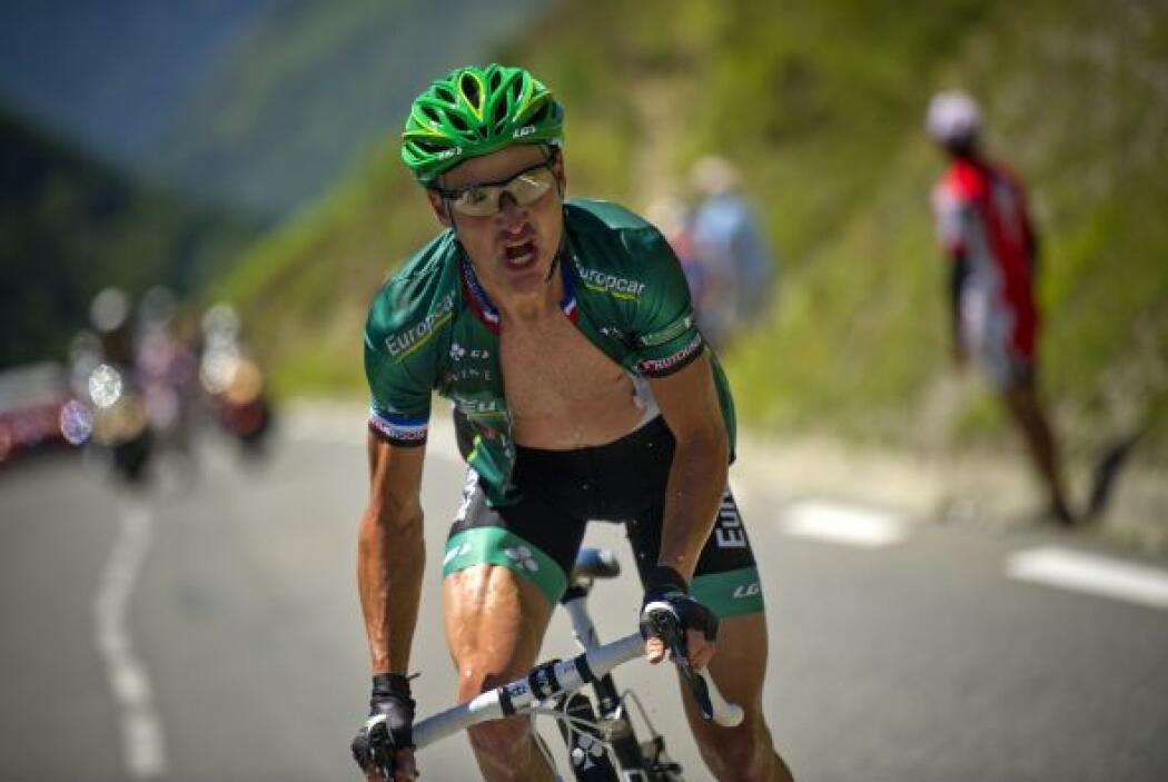 Thomas Voeckler es el ciclista más querido por los franceses porque repr...
