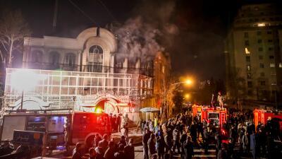 Irán protestas embajada