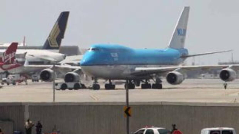 Hoy se inaguró la primera fase de la terminal internacional Tom Bradley...