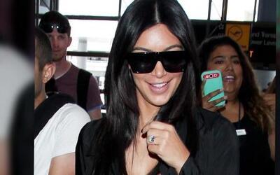 Kim Kardashian, Kendall y Kris Jenner salen de vacaciones
