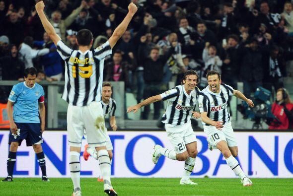 A falta de ocho minutos para el final, un histórico de Juventus m...