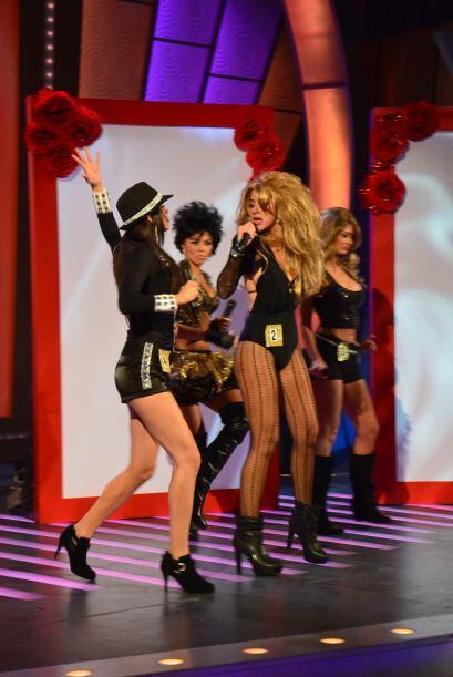 Katherine, Vanessa, Carolina y Joely dieron todo en el escenario.