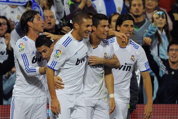 El Real Madrid no afloja y sigue con su racha de triunfos. Le ganó al Hé...
