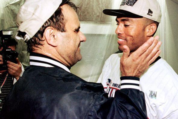 El mejor cerrador de Grandes Ligas, el panameño Mariano Rivera, celebró...
