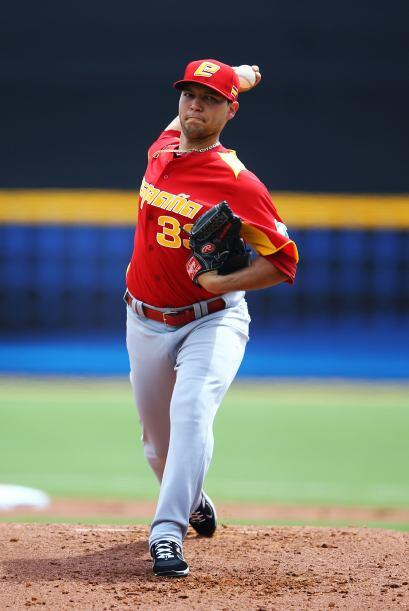 El abridor del equipo español, el venezolano Richard Castillo, mereció g...