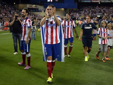 El Atlético de Madrid ganó el primer título de la t...