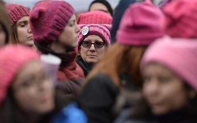 Se estima que medio millón de personas asistió a la Marcha...