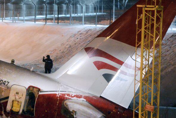Precisamente, la agencia de aviación de Rusia, Rosaviatsia, infor...