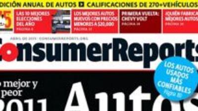 Consumer Reports lanzó su número anual de autos en español.