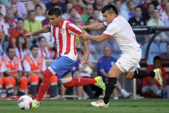 Otro partido de importancia era el de Atlético de Madrid ante el Sevilla.