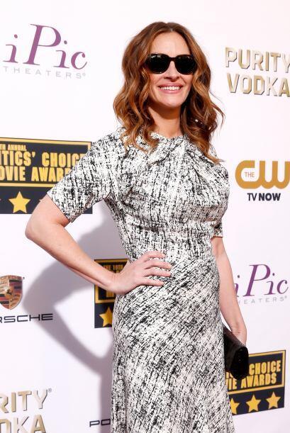 Julia Roberts, que nació en 1967, también es una mamita qu...