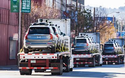 Uber convirtió la mudanza de los vehículos autónomo...