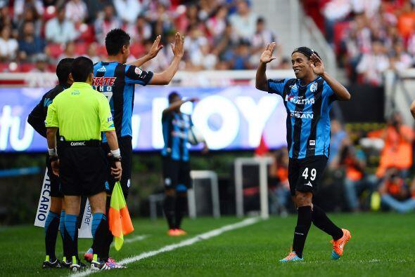 Hasta el momento Ronaldinho ha convencido y callado las críticas, falta...