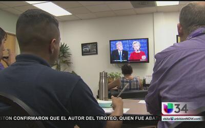 Californianos reaccionan al primer debate presidencial