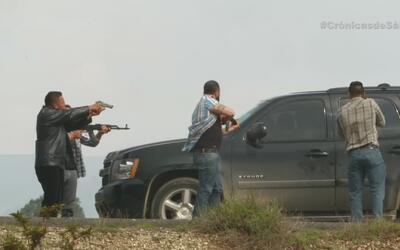 Interceptados y atacados por los Zetas