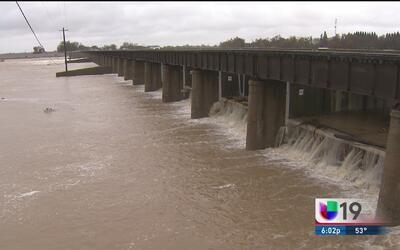 Abren compuertas de la presa Sacramento