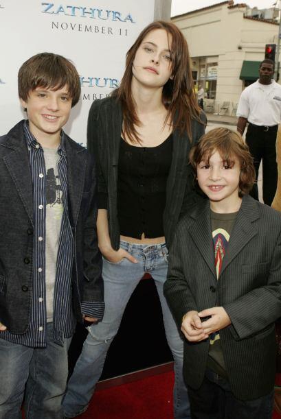 """Kristen apareció en 2005 en la cinta infantil """"Zathura"""", junto al tambié..."""