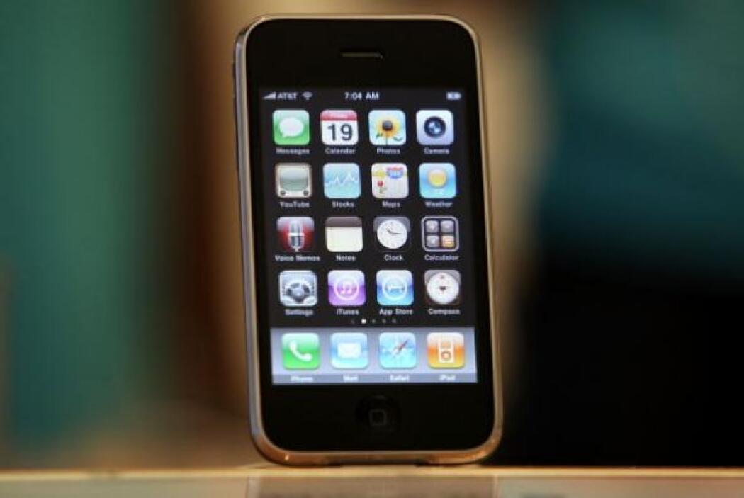 En Junio de 2009 cientos de personas hicieron cola en la tienda de Apple...