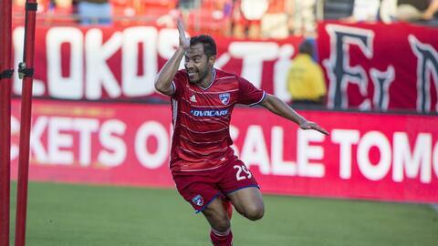 """""""El Pescadito"""" Ruiz marcó su primer gol en la MLS en 5 años."""